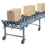 elastyczny transporter rolkowy