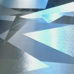S-print blue bezbarwny połysk