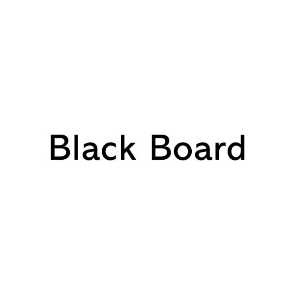 Black Board 60% Recycled