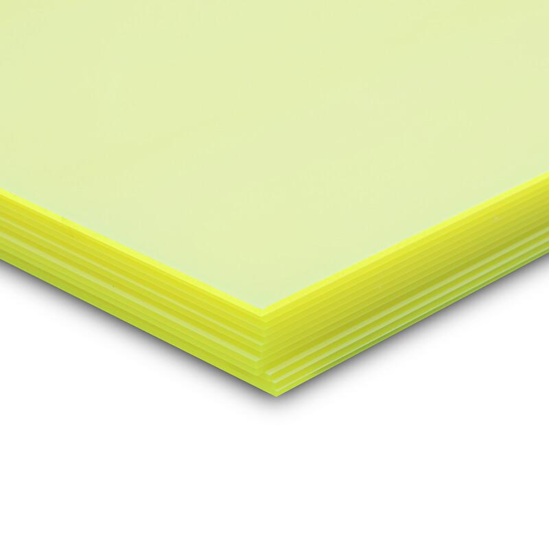 Perspex® fluorescent aplikacja