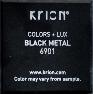 Krion płyta black metal